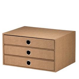 Rössler S.O.H.O. Hazelnut Special Edition - 3er Schubladenbox