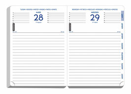 Quo Vadis Lehrerkalender - Forum 12x17cm - Schuljahr 2021/2022