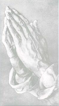 Rössler Traueranzeigen - Betende Hände
