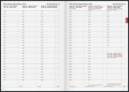 Brunnen Buchkalender 2021 - Modell 763 21x29cm