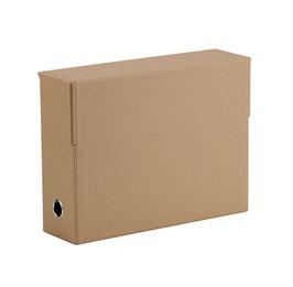 Rössler S.O.H.O. Recyclingpapier Kraft - Archivbox