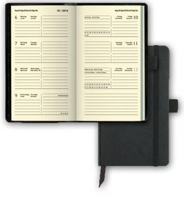 Brunnen Buchkalender 2021 - Modell 756 Kompagnon 8,7x15,3xm