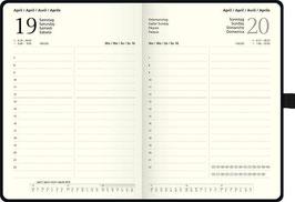 Brunnen Buchkalender 2020 - Modell 764 Kompagnon 14,3x20,2cm