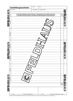 2005.68 Industrie & Handel - Berichtsheft für kaufmännische und gewerbliche Ausbildungsberufe vom Feldhaus Verlag