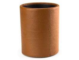 PA Papierkorb - Impuls Rind-Nappa-Leder