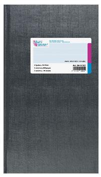 Spaltenbuch 2 Spalten 3/4 A4 Deckenband-Einband - K&E von Baier & Schneider