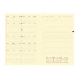 Quo Vadis Kalender 2019 Note 24 - 16x24cm