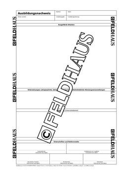 2123 Industrie & Handel - Berichtsheft für kaufmännische und gewerbliche Ausbildungsberufe vom Feldhaus Verlag