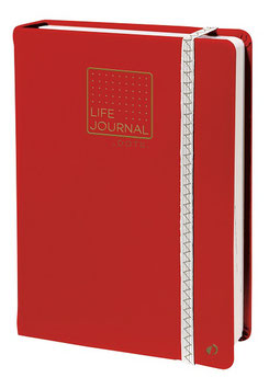 Quo Vadis Life Journal 21 DOT - 15x21cm Korallenrot
