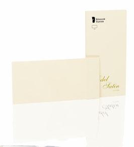 Rössler Satin - Kartenpack DIN lang