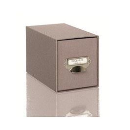 Rössler S.O.H.O. Taupe - CD-Schubladenbox mit Griff