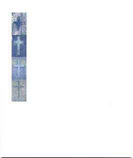 Rössler Traueranzeigen - 4 Kreuze