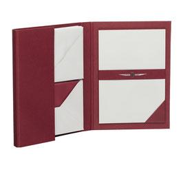 Rössler Paper Royal Grau - Briefpapiermappe A5