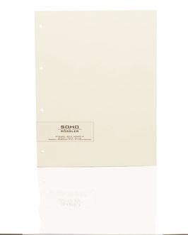 Fotokarton Elfenbein 29,7x23cm - Fotothek by Rössler (Packung mit 20 Blatt)