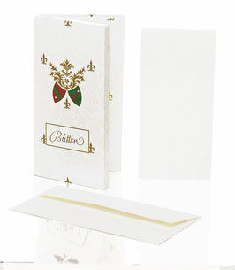Rössler Zerkall-Bütten - Kartenpackung lang