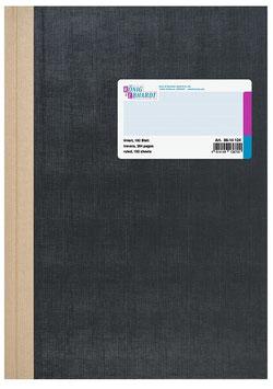 Geschäftsbuch liniert A5 Deckenband-Einband - K&E von Baier & Schneider
