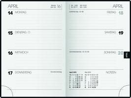 Brunnen Taschenkalender 2022 7,6x11,2cm - Modell 723
