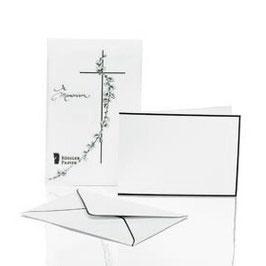 Rössler Trauerpost - Kartenmappe