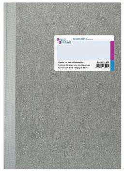 Spaltenbuch 1 Spalte A4 Deckenband-Einband - K&E von Baier & Schneider