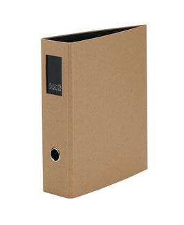 Rössler S.O.H.O. Recyclingpapier Kraft - Ordner A4 mit Rückenschild