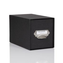 Rössler S.O.H.O. Schwarz - CD-Schubladenbox mit Griff