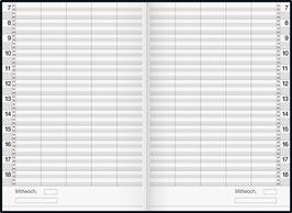 Rido Buchkalender - Ultraplan