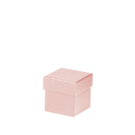 Kartonage quadratisch Powder 65x65x65mm - Boxline by Rössler 4er Satz