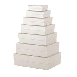 7er Kartonage Milk - Boxline by Rössler