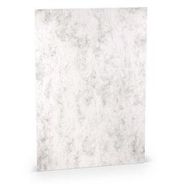 Rössler Paperado Briefpapier Grau marmoriert
