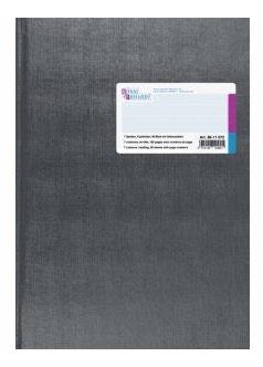 Spaltenbuch 7 Spalten mit Kopfleiste A4 Deckenband-Einband - K&E von Baier & Schneider