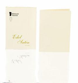 Rössler Satin - Doppelkarten A6