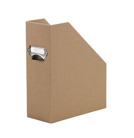 Rössler S.O.H.O. Kraft 100% Recyclingpapier - Stehsammler mit Griff