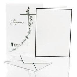 Rössler Trauperpost - Briefpapiermappe