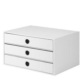Rössler S.O.H.O. White Special Edition - 3er Schubladenbox