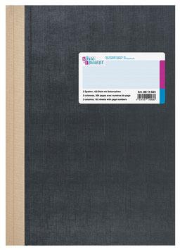 Spaltenbuch 2 Spalten A4 Deckenband-Einband - K&E von Baier & Schneider