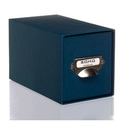 Rössler S.O.H.O. Navy - CD-Schubladenbox mit Griff