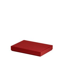 Kartonage für A5 Rot - Boxline by Rössler 4er Satz