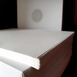 Rössler Zerkall-Bütten Einzelkarte DIN lang 10x21cm halbmatt 240g/m² (100 Karten)