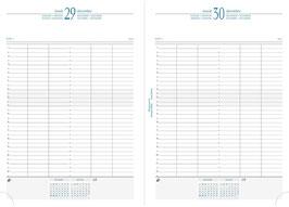 Quo Vadis Kalender 2022 Journal 29/2 A4 - 21x29,7cm Kunstleder Schwarz