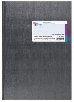 Spaltenbuch 13 Spalten mit Kopfleiste Schema über 2 Seiten A4 Deckenband-Einband - K&E von Baier & Schneider