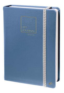 Quo Vadis Life journal 21 Dot - 15x21cm Blaugrau
