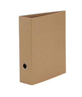 Rössler S.O.H.O. Recyclingpapier Kraft - Ordner A4