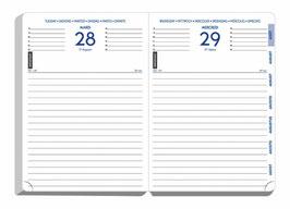 Quo Vadis Lehrerkalender 12x17cm Forum - Schuljahr 2021/2022