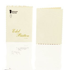 Rössler Edelbütten - Doppelkarten A6