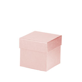 Kartonage quadratisch Powder 105x105x105mm - Boxline by Rössler 4er Satz