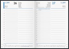 Brunnen Buchkalender 2021 - Modell 798 14x20,6cm