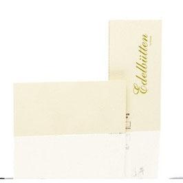 Rössler Edelbütten - Kartenpack DIN lang