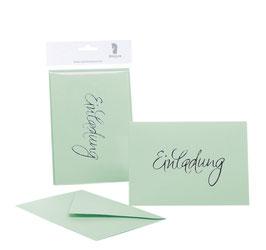 Rössler Einladung Mint (30 Einladungskarten)