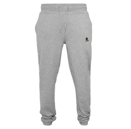 "Joggingpants ""Racoonigan"" Heather Grey"