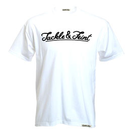 "T-Shirt ""TandF"" White"